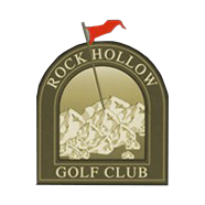 Logo of golf course named Rock Hollow Golf Club