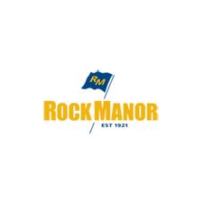 Logo of golf course named Rock Manor Golf Club