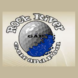 Logo of golf course named Rock River Country Club