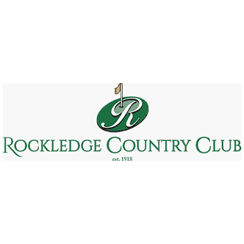 Logo of golf course named Rockledge Country Club