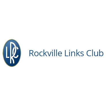 Logo of golf course named Rockville Links Club