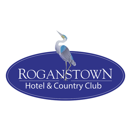 Logo of golf course named Roganstown Hotel and Country Club