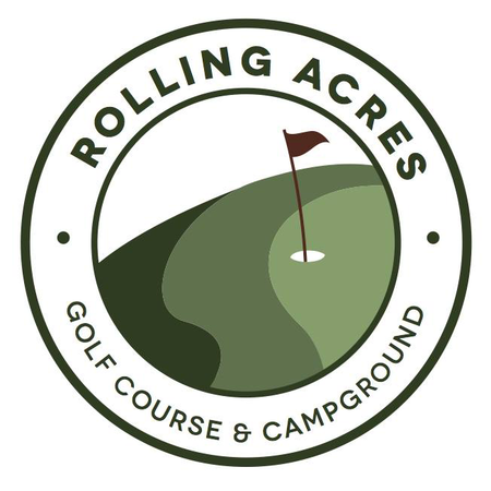 Logo of golf course named Rolling Acres Golf Course