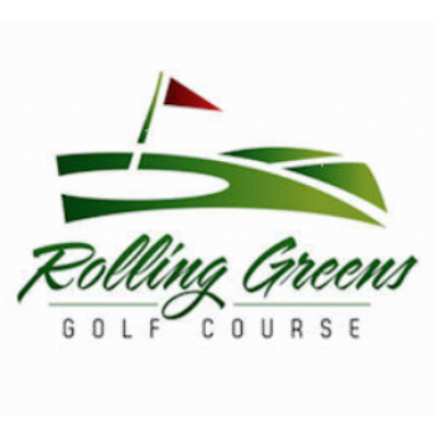 Logo of golf course named Rolling Greens Golf Club