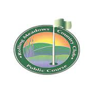 Logo of golf course named Rolling Meadows Country Club