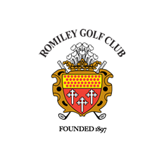 Logo of golf course named Romiley Golf Club