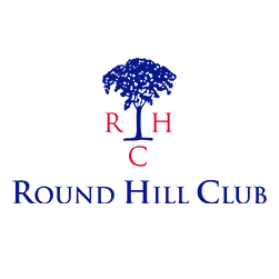 Logo of golf course named Round Hill Club