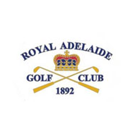 Logo of golf course named Royal Adelaide Golf Club
