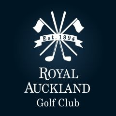 Logo of golf course named Royal Auckland Golf Club