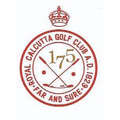 Logo of golf course named Royal Calcutta Golf Club