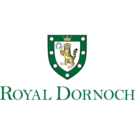 Logo of golf course named Royal Dornoch Golf Club
