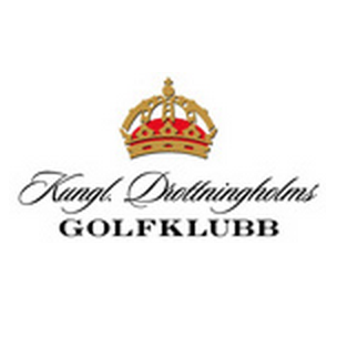 Logo of golf course named Royal Drottningholms Golf Club