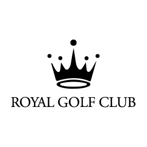 Logo of golf course named Royal Golf Club