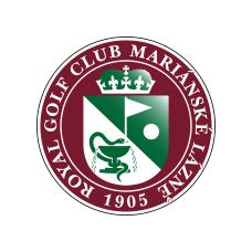 Logo of golf course named Royal Golf Club Marianske Lazne