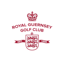 Logo of golf course named Royal Guernsey Golf Club
