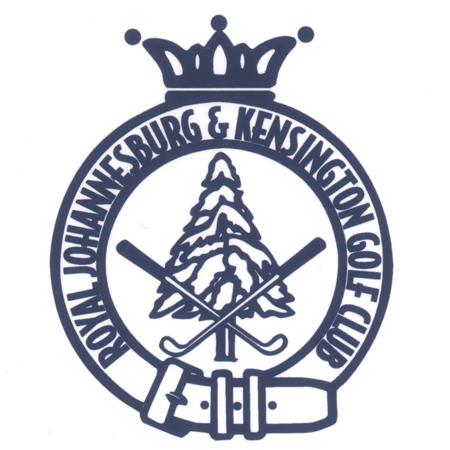 Logo of golf course named Royal Johannesburg and Kensington Golf Club