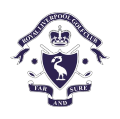 Logo of golf course named Royal Liverpool Golf Club