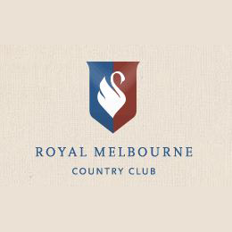 Logo of golf course named Royal Melbourne Country Club