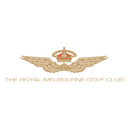 Logo of golf course named Royal Melbourne Golf Club - West Course