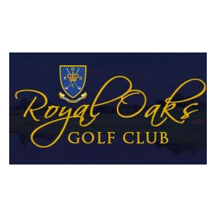 Logo of golf course named Royal Oaks Golf Club