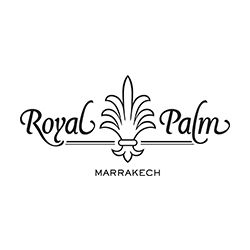 Logo of golf course named Royal Palm Golf Club