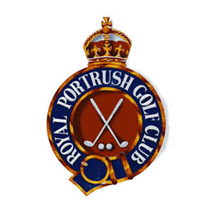 Logo of golf course named Royal Portrush Golf Club - Dunluce Course