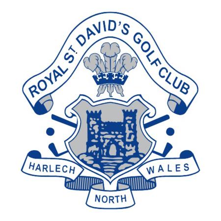 Logo of golf course named Royal Saint David's Golf Club