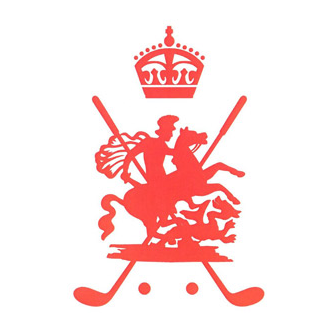 Logo of golf course named Royal Saint George's Golf Club