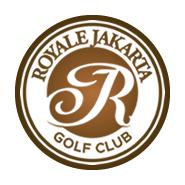 Logo of golf course named Royale Jakarta Golf Club