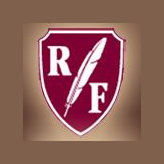 Logo of golf course named Ruffled Feathers Golf Club