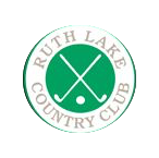 Logo of golf course named Ruth Lake Country Club