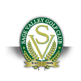 Logo of golf course named Sage Valley Golf Club
