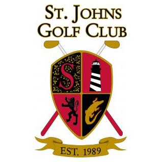 Logo of golf course named Saint Johns Golf Club