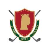 Logo of golf course named Saint Sofia Golf Club and Spa