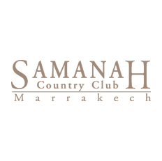 Logo of golf course named Samanah Country Club