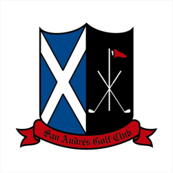 Logo of golf course named San Andres Golf Club