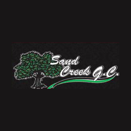 Logo of golf course named Sand Creek Golf Course