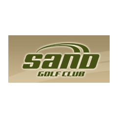 Logo of golf course named Sand Golf Club