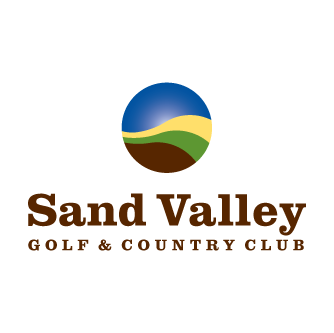 Logo of golf course named Sand Valley Golf and Country Club