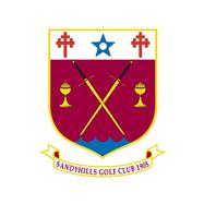Logo of golf course named Sandyhills Golf Club