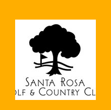 Logo of golf course named Santa Rosa Golf and Country Club