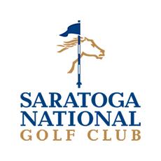 Logo of golf course named Saratoga National Golf Club