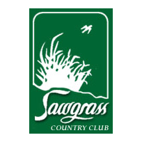 Logo of golf course named Sawgrass Country Club