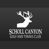 Logo of golf course named Scholl Canyon Golf and Tennis Club