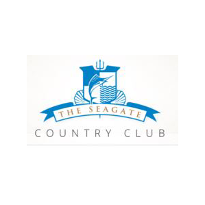 Logo of golf course named Seagate Country Club