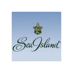 Logo of golf course named Seaside Course at Sea Island Golf Club