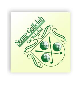 Logo of golf course named Senne Golfclub Gut Welschof e.V.