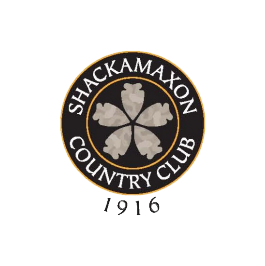 Logo of golf course named Shackamaxon Golf and Country Club