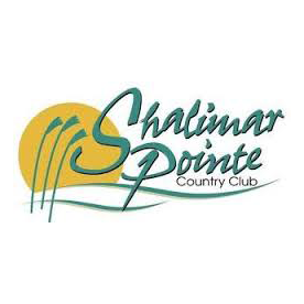 Logo of golf course named Shalimar Pointe Golf and Country Club