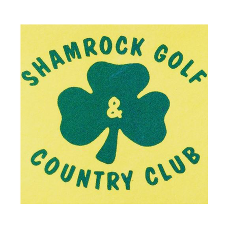 Logo of golf course named Shamrock Golf and Country Club